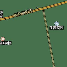 土默特左旗地图 土默特左旗卫星地图 呼和浩特市土默特左旗地图全图高清版